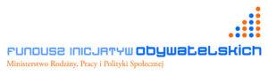 LogoLogo Funduszu Inicjatyw Obywatelskich Ministerstwa Rodziny, Pracy i Polityki Społecznej zostało użyte w artykule finansowanie organizacji pozarządowych